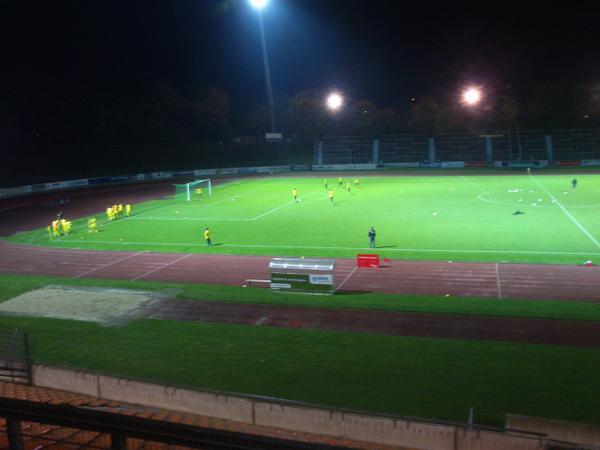 Flutlichtspiel beim Bonner SC