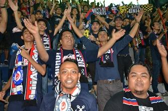 Starker Support: Die Fans von Johor