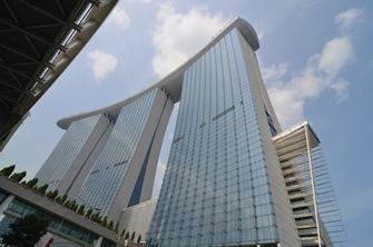 Hochmodern, aber seelenlos - das Zentrum Singapurs