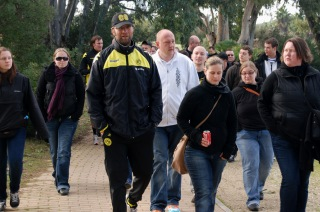 Jerez 2011: Spaziergang mit den Fans
