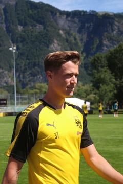 Trainierte individuell: Erik Durm
