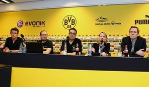 Vorstand von links: Tobias Westerfellhaus, Jakob Scholz, Torsten Schild, Christina Gassner, Michael Röhr