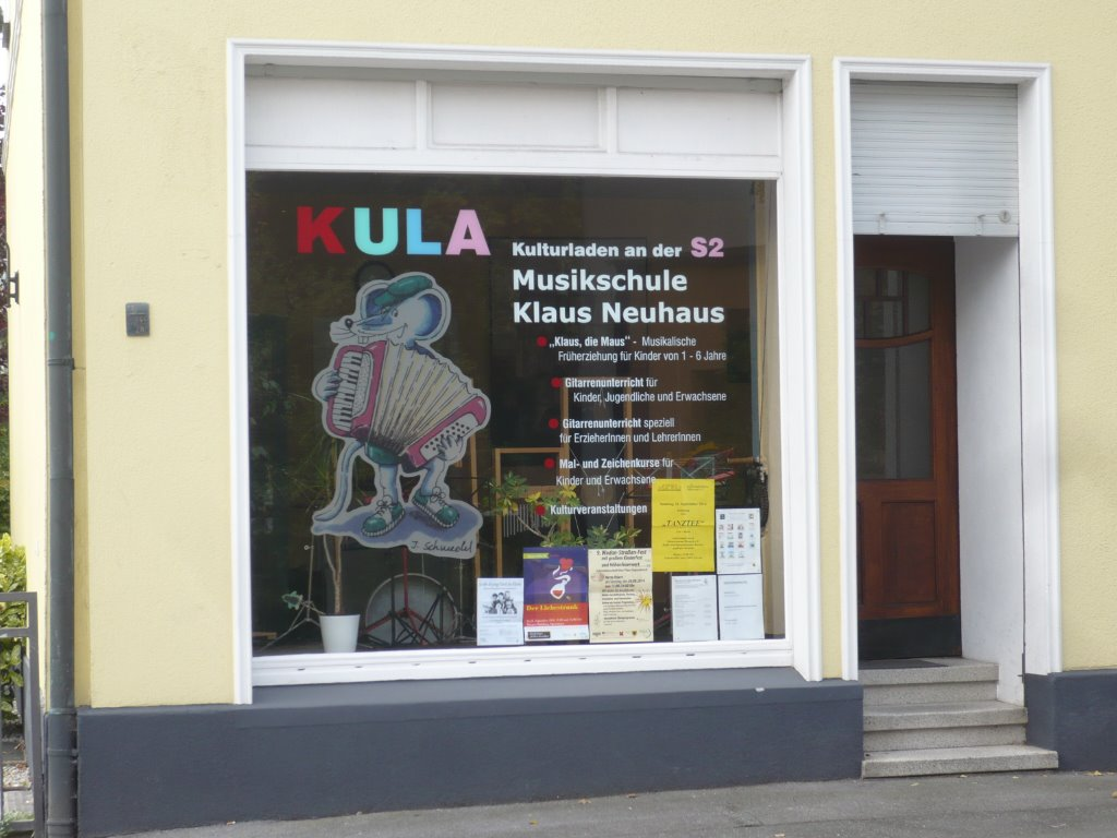 Die Musikschule von Klaus Neuhaus im Kulturladen