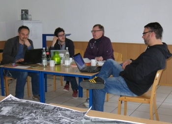 Klausurtagung des Filmteams mit Gerd Kolbe