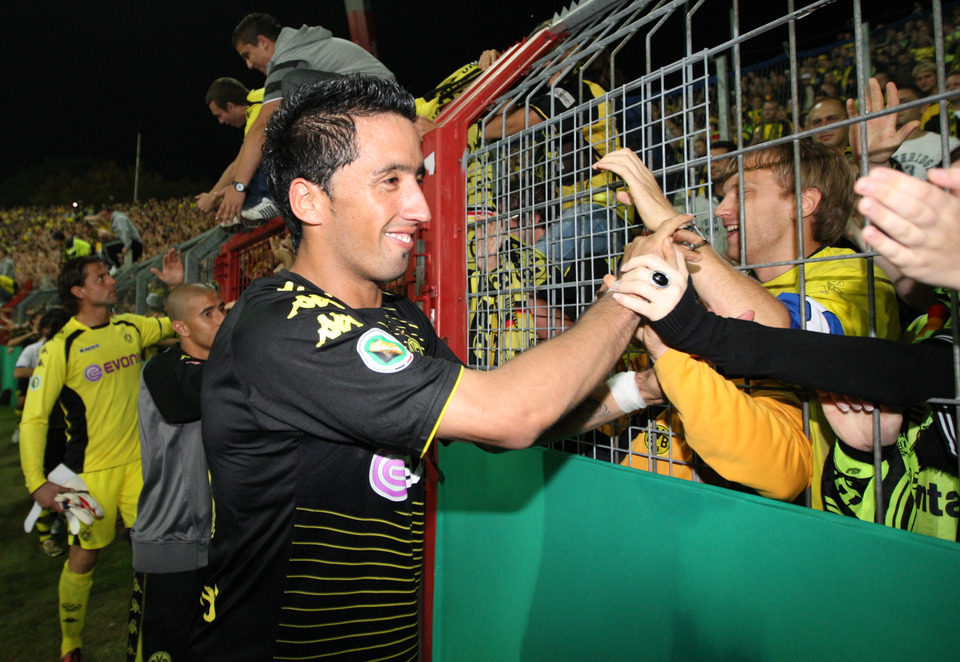 Barrios und die BVB-Fans