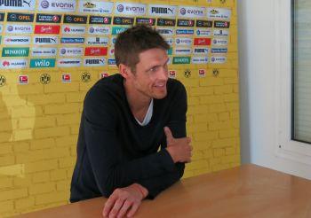Kehl getting interviewed