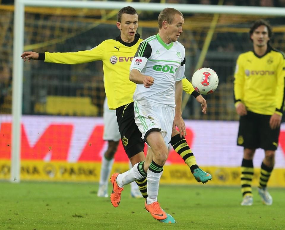 Perisic against Wolfsburg