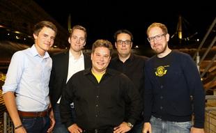FA-Vorstand: Tobias Westerfellhaus, Michael Röhr, Michael Hillgärtner, Torsten Schild, Jakob Scholz (v.l.)