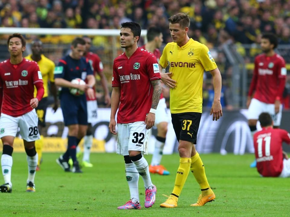 Bittencourt im Rückspiel gegen den BVB