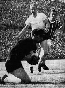 Tilkowski gegen Martinelli im Pokalfinale 1965