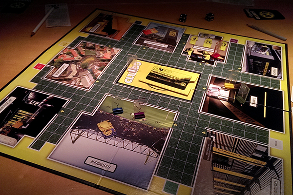 Cluedo BVB in Aktion