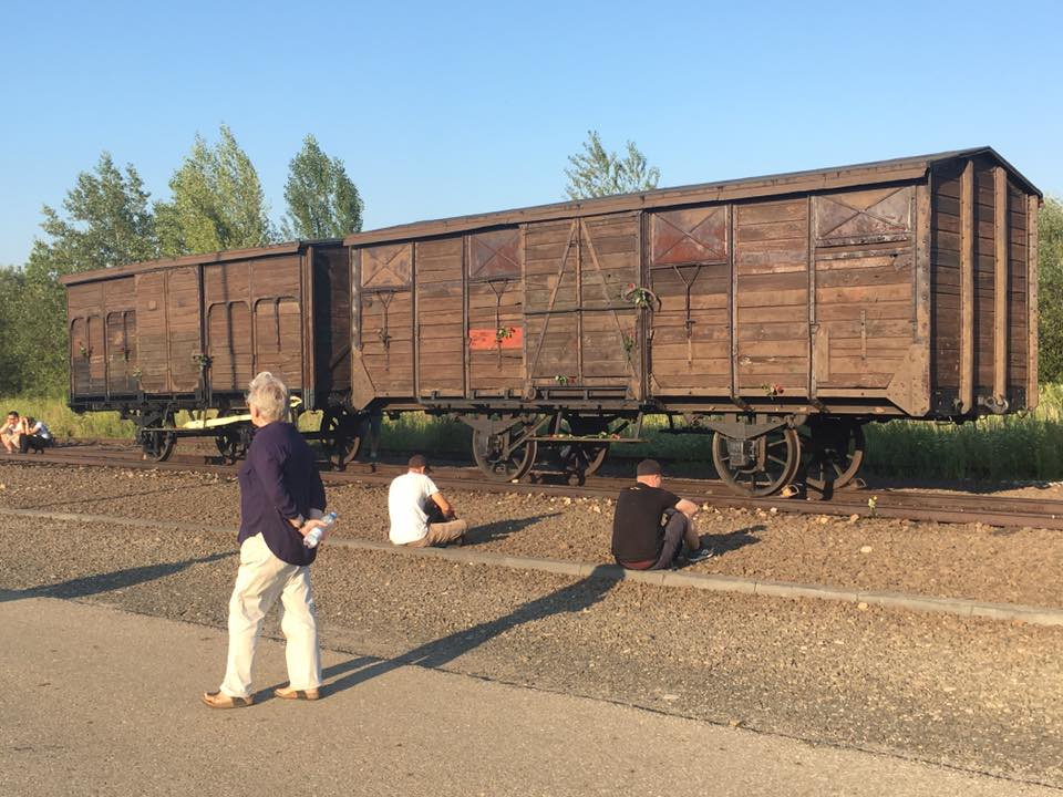 Rampe im Vernichtungslager Auschwitz-Birkenau