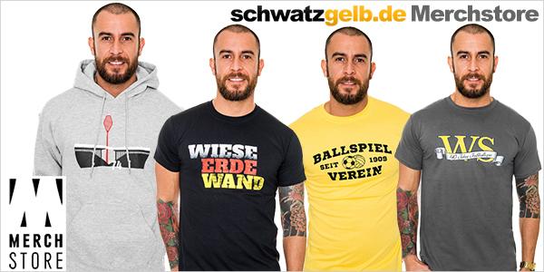 Merchstore wird neuer Partner von schwatzgelb.de