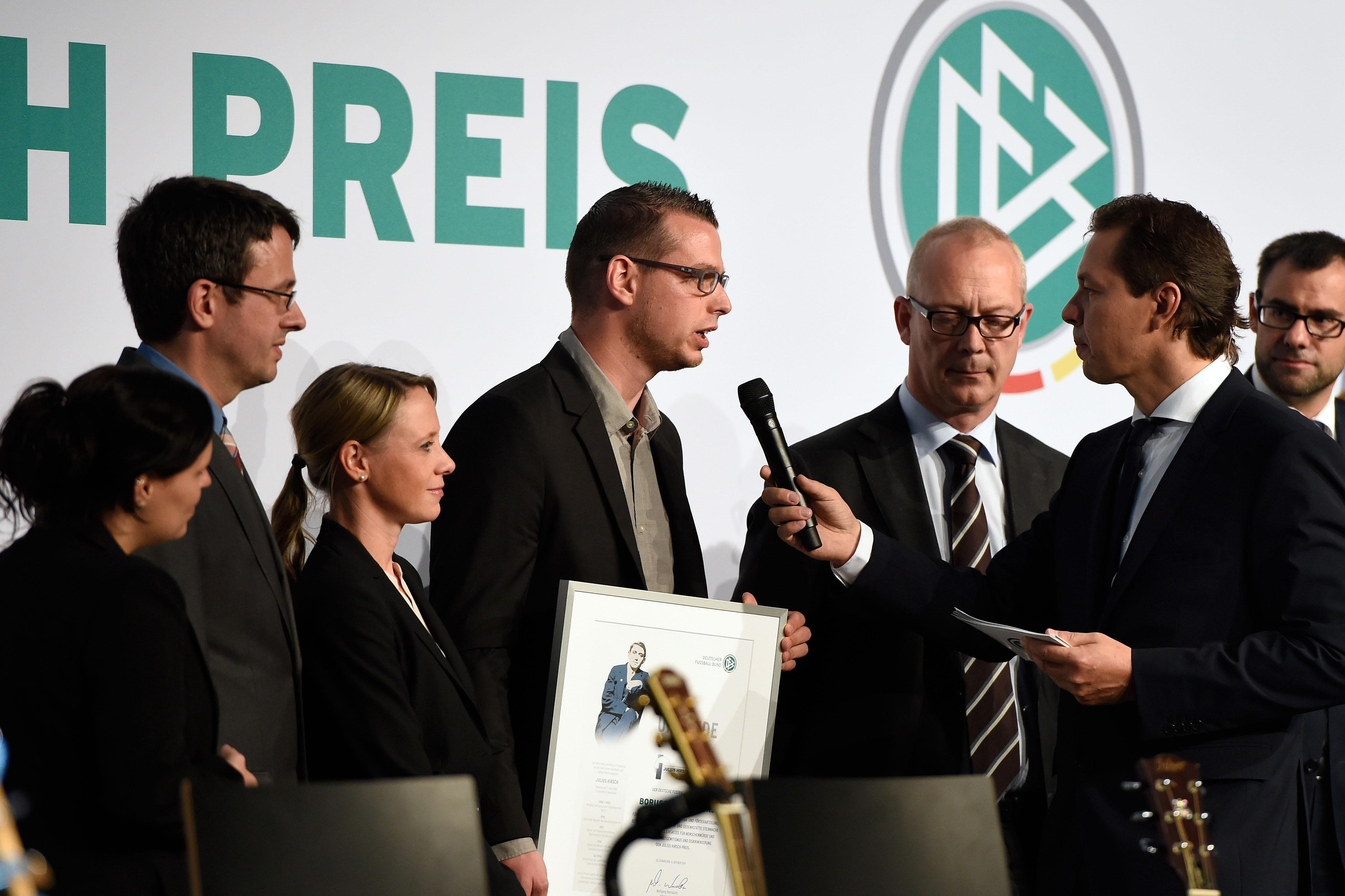 BVB-Fanbeauftragter Daniel Lörcher