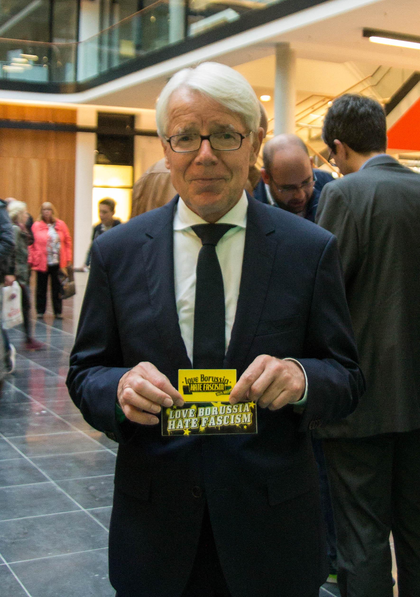 BVB-Präsident Rauball setzt Zeichen