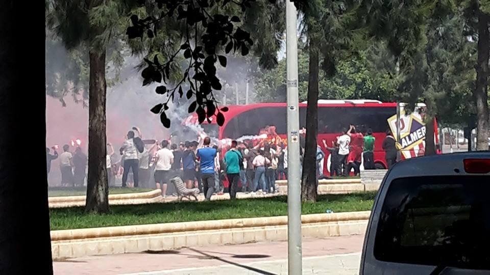 Ultras in Almeria