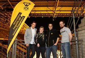 Der neu gewählte Vorstand (Bildquelle: Jimmy Hartwig Scholz - BVB Fanabteilung)