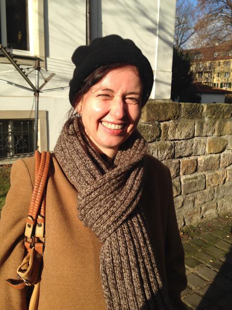 Autorin und Fußballfan Dagrun Hintze