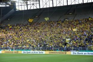 33.450 Zuschauer fanden den Weg ins Westfalenstadion