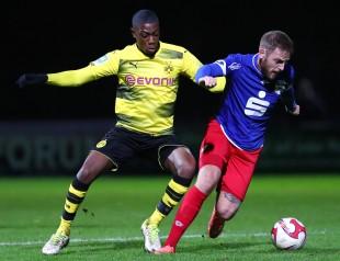 Denzeil Boadu gab sein Debut beim BVB