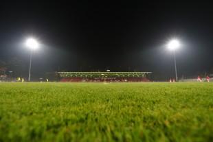 Leider nur knapp 300 Zuschauer im Paul-Janes-Stadion