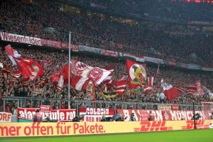 Freute sich zu früh: Die Münchener Südkurve