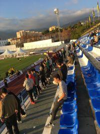 Spanische Fans in Marbella
