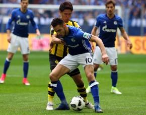 Shinji Kagawa gegen Nabil Bentaleb