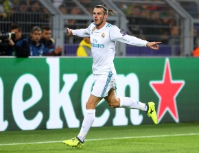 Gareth Bale traf sehenswert zum 1:0
