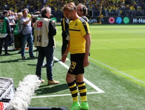 Marcel Schmelzer verletzte sich beim Aufwärmen