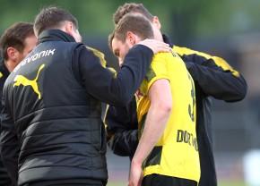 Sören Dieckmann verletzte sich an der Schulter