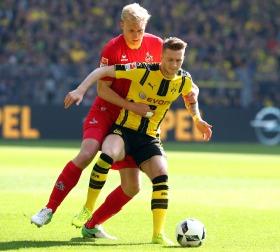 Dominique Heintz gegen Marco Reus