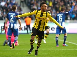 Pierre-Emerich Aubameyang sorgte für das zwischenzeitliche 1:1
