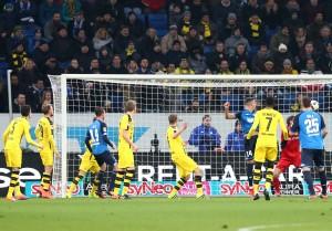 Diskussionen prägten den zweiten Treffer durch Sando Wagner
