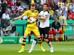 Marco Reus gegen David Abraham