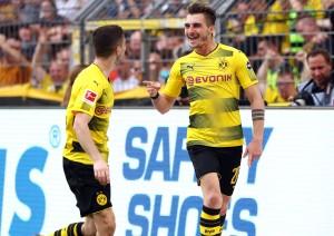 Maximilian Philipp bejubelt das 3-0