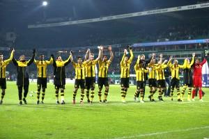 Das Hinspiel wurde im Weserstadion im Januar souverän gewonnen