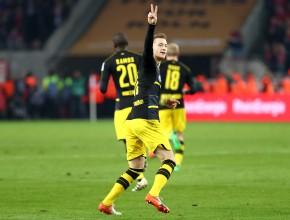 Marco Reus bejubelt den Ausgleich