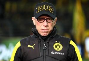 Peter Stöger war mit dem Ergebnis zufrieden