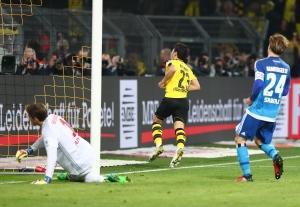 Shinji Kagawa sorgte für die Entscheidung: 2-0
