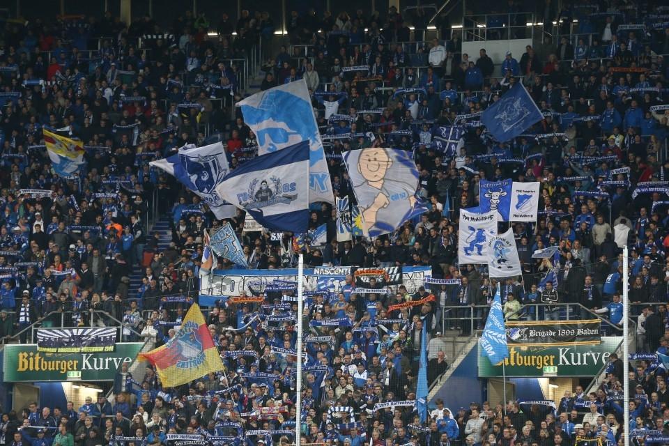 Die blaue Wand!
