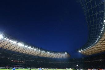 Wenn es nicht gerade gegen den BVB oder Bayern München geht, ist das Berliner Olympiastadion meist spärlich gefüllt