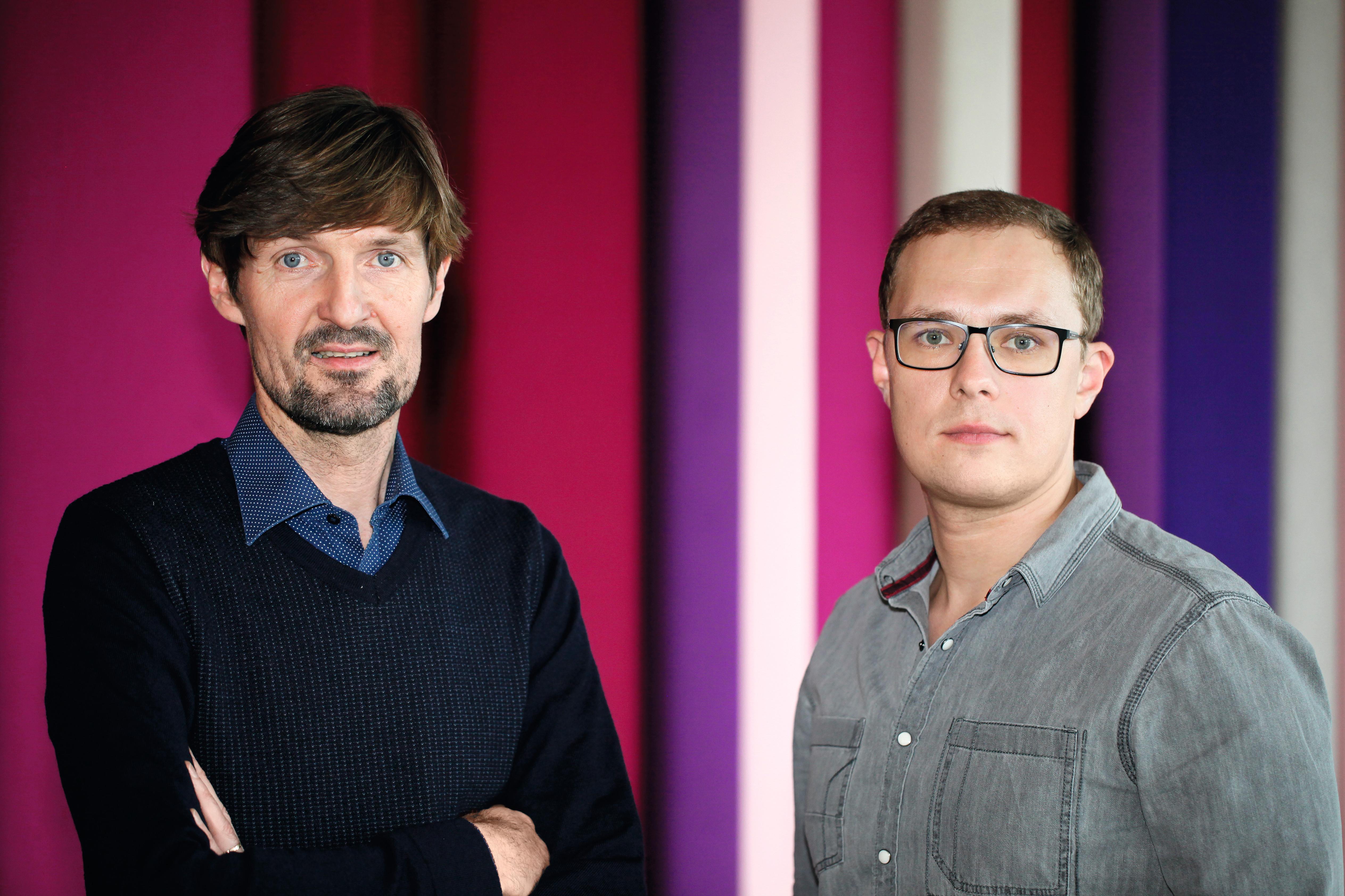 Die Autoren Michael Wulzinger und Rafael Buschmann
