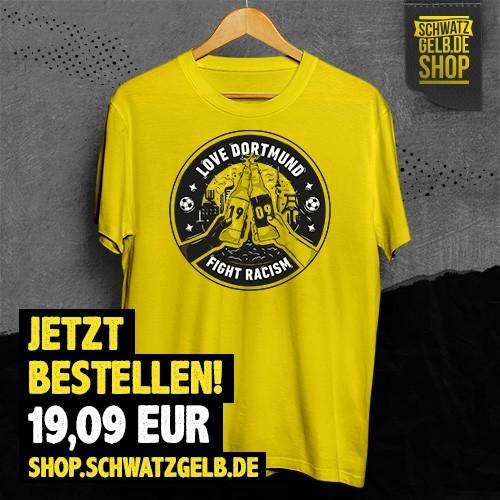 Fight Racism Shirt in unserem schwatzgelb.de Shop